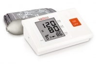 Semi-automatic blood pressure monitor