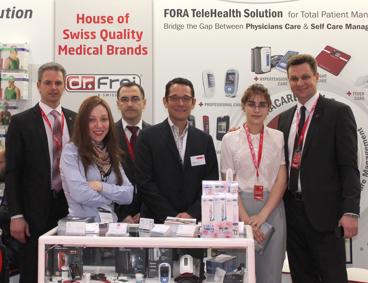Dr. Frei at Arab Health 2015